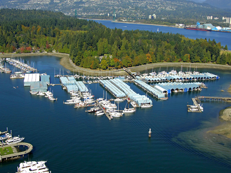 Royal Vancouver Yacht Club - Coal Harbour Marina Expansion Project