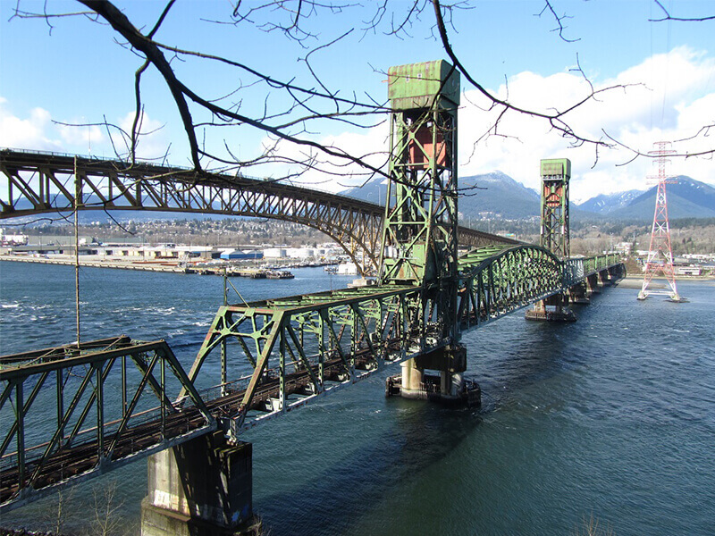 Second Narrows Rail Bridge